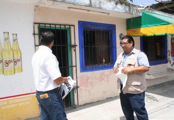 Josué Paredes Irizzont fue dado de baja de la representación de la Cofepris en Cozumel. (Redacción/SIPSE)