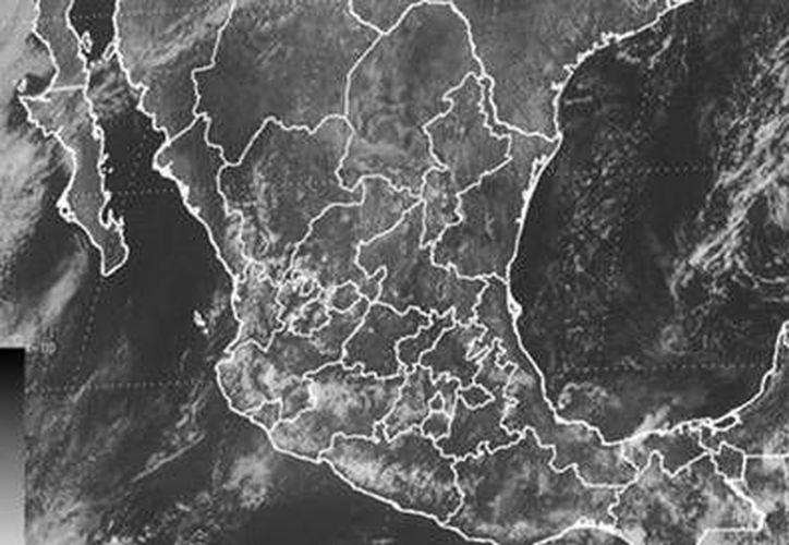 La tormenta tropical 'Karen' avanza sobre el Golfo de México rumbo a Estados Unidos. (Conagua)