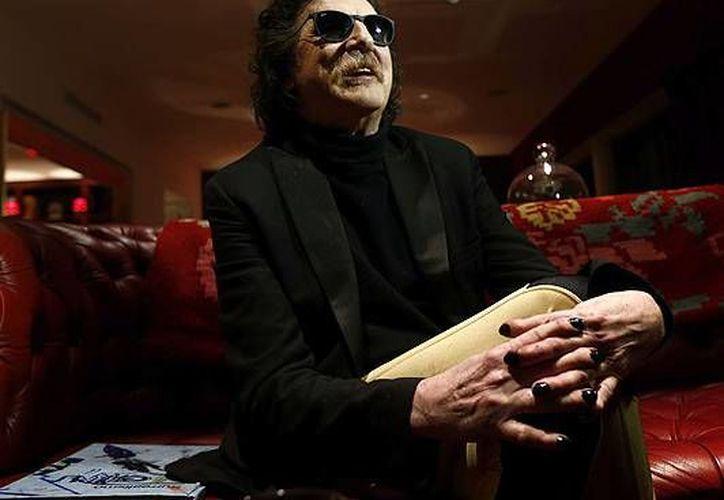 El pasado 20 de diciembre, el cantante argentino Charly García fue hospitalizado por presentar cuadro de fiebre y deshidratación.(Archivo/AP)