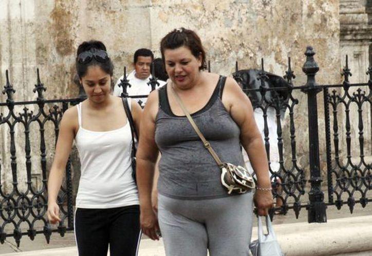 El sobrepeso causa otros males como diabetes, hipertensión arterial e insuficiencia renal. . (Milenio Novedades)