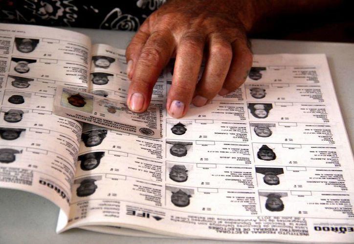 El PAN logró seis diputaciones locales en Tlaxcala según el 85% del conteo de votos. (Notimex)