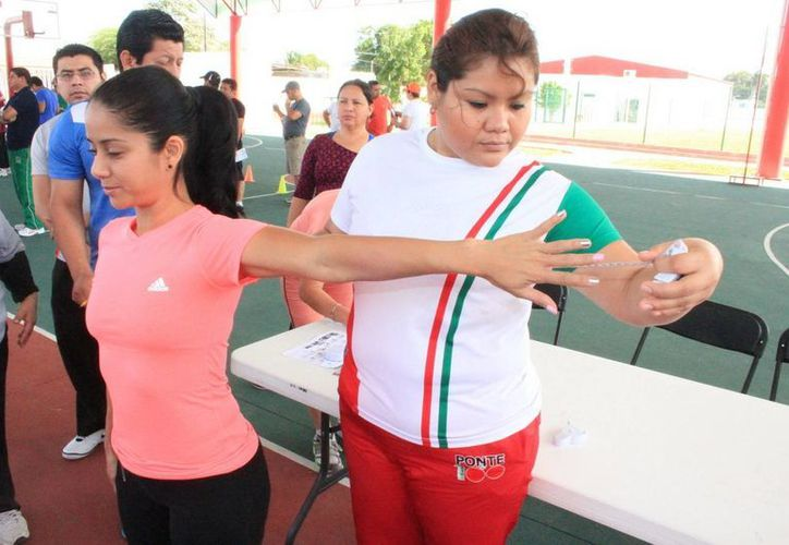 La cruzada nacional busca combatir el sedentarismo y promover la activación física. (Cortesía/SIPSE)