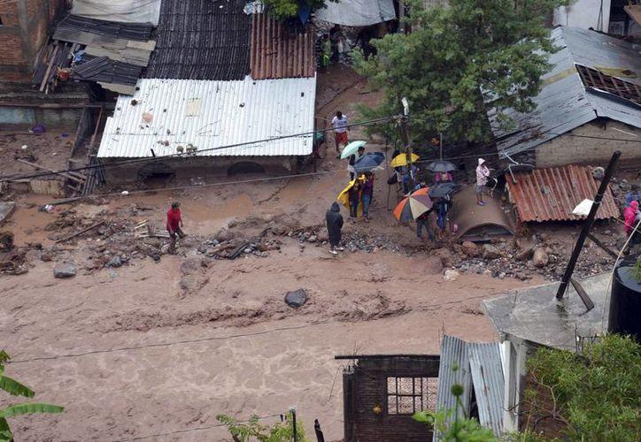 Guerrero es tan solo uno de numerosos estados del país afectados por las tormentas 'Ingrid' y 'Manuel'. (Agencias)