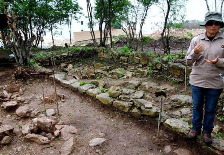Los restos óseos hallados en Los Héroes tienen una antigüedad de hasta mil 400 años. Imagen del lugar en el fraccionamiento Los Héroes. (Milenio Novedades)