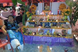 Festival del Día de Muertos en Las Palapas