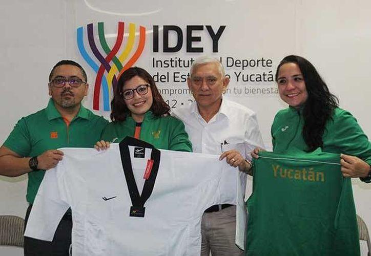 Jéssica García Quijano representará a Yucatán y a México en un torneo de tae kwon do en Las Vegas del 30 de enero al 4 de febrero. (SIPSE)