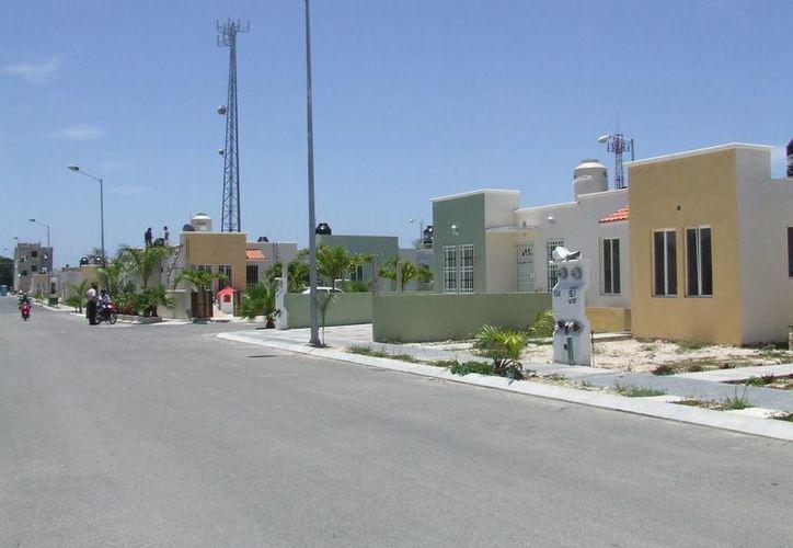 En el municipio existe una demanda anual de entre mil y dos mil viviendas por personas de escasos recursos. (Rossy López/SIPSE)