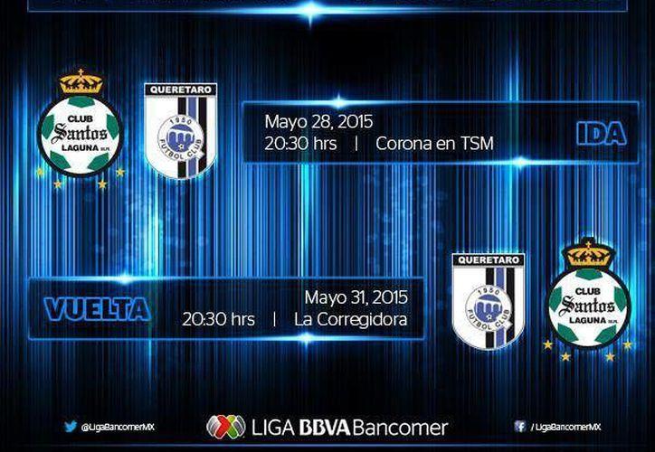 Ya están los horarios definidos para la final de La Liga MX. (Fotografía: @LigaBancomexMX)
