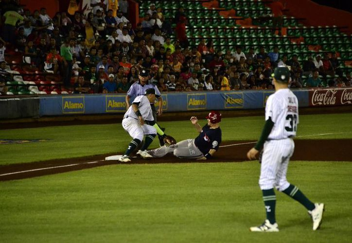 Los melenudos le ganaron los dos juegos a Piratas de Campeche en Mérida. (Milenio Novedades)