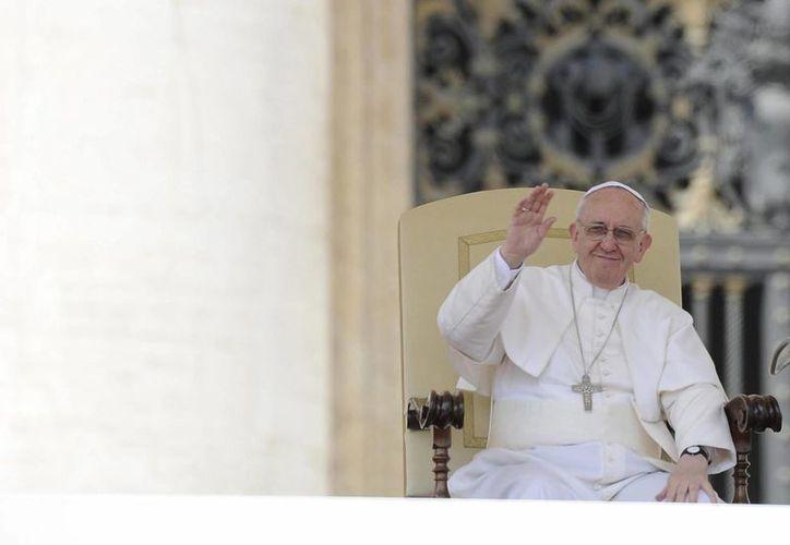 """""""La comunidad cerrada  habla con palabras injuriosas"""", dijo el Papa. (Archivo/EFE)"""