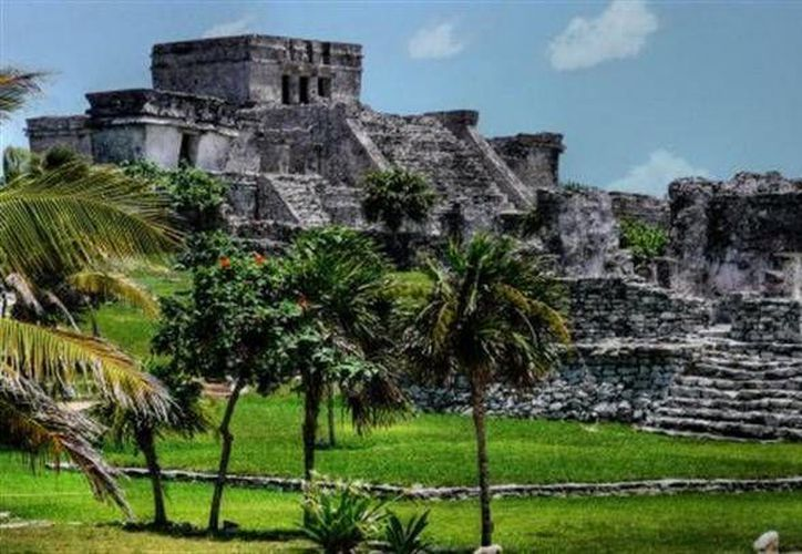 Tulum, ocupa el tercer lugar, entre las cinco zonas arqueológicas de México. (Contexto/Internet)