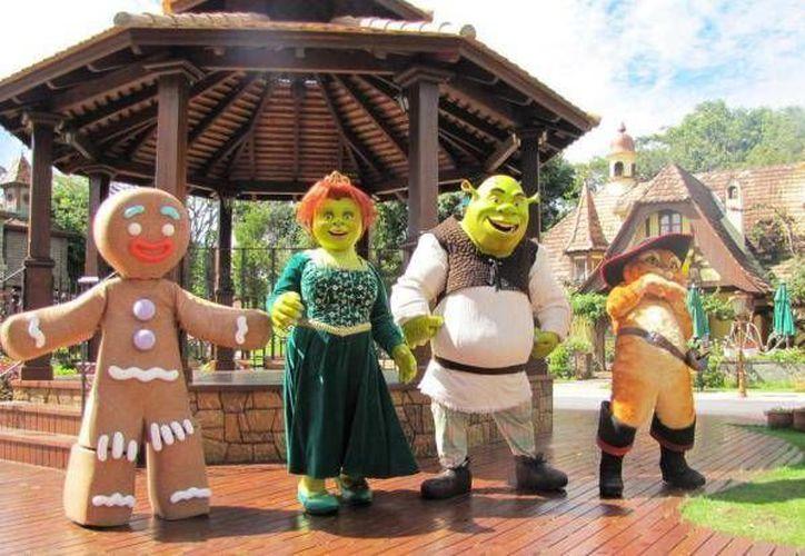 El parque que planea construir Dreamworks en la Riviera Maya tendría villas de Shrek y otros personajes animados. (Foto de contexto/Internet)