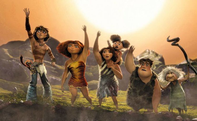 El filme narra las aventuras de una familia de la prehistoria. (Agencias)