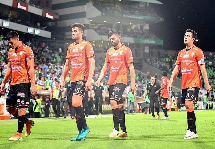 Jaguares de Chiapas está a un juego de terminar la Temporada en último lugar general, ya que apenas suma 6 unidades.(Foto tomada de Mediotiempo)