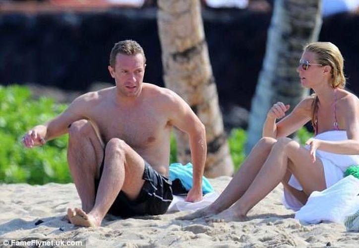 Gwyneth Paltrow y Chris Martin llevaban 10 años de casados. (dailymail.co.uk)