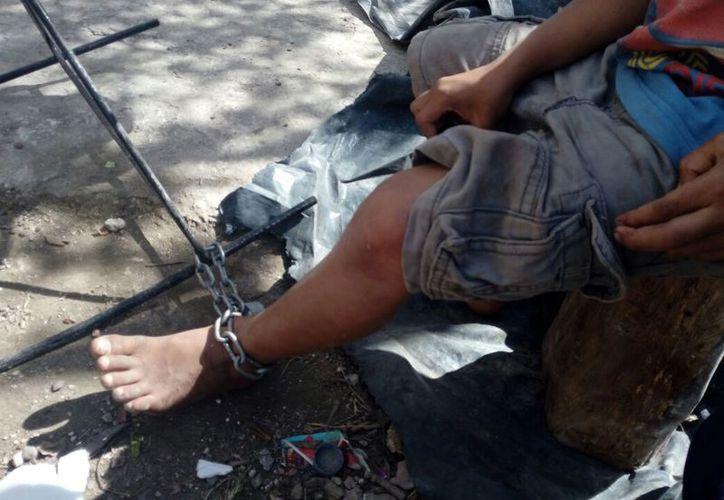 Los tres menores rescatados por la Policía Municipal, fueron puestos a disposición de la Fiscalía General del Estado. (Redacción/SIPSE)