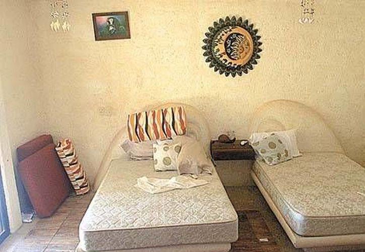 Habitación donde fueron violadas las españolas. (Milenio)