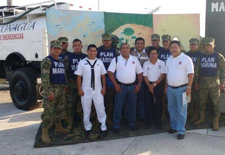 Los cursos de la Feria de Protección Civil se llevan cabo en el marco de la celebración de su 30 aniversario. (Daniel  Pacheco/SIPSE)