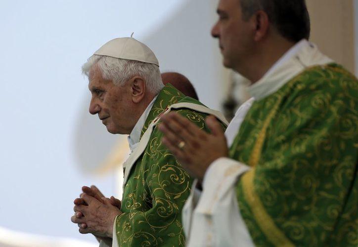 Benedicto XVI dijo que 'nada es imposible para Dios'. (Agencias)