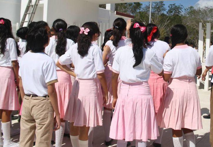 El comité contra las adicciones busca alejar a los jóvenes en edad escolar de las drogas. (Octavio Martínez/SIPSE)