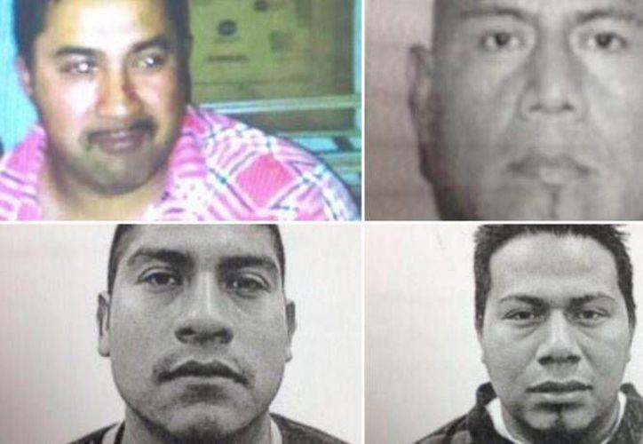 Martín Luna, Urbano Santiago, Miguel Luna y Héctor Gutiérrez fueron asesinados por un expolicía neoyorquino, según informes de la fiscalía de NY. (nydailynews.com)