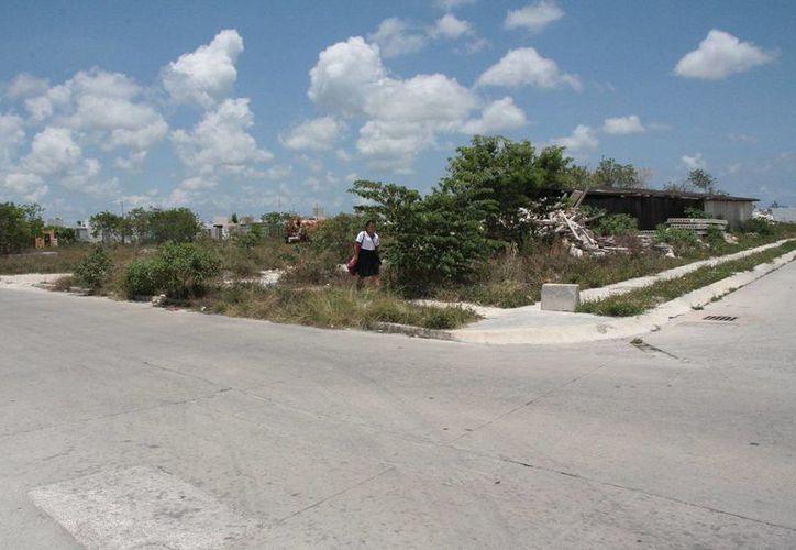 El Ayuntamiento donó un predio para la edificación del plantel educativo. (Julián Miranda/SIPSE)