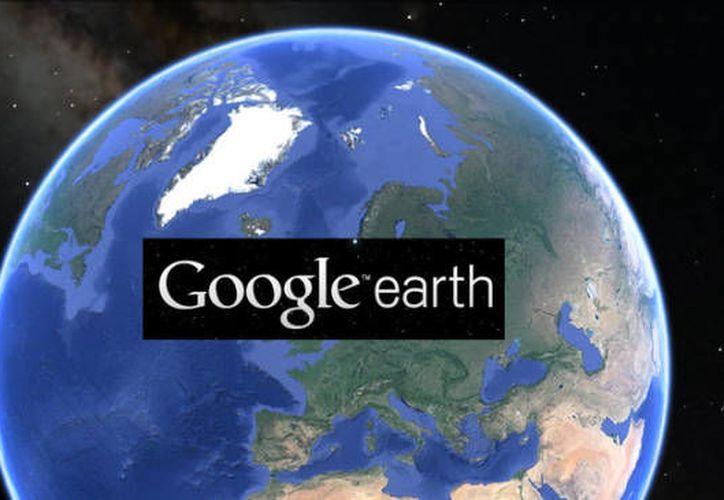 En la nueva actualización de Google Earth se podrá acceder al sistema directamente desde internet, en lugar de instalar la aplicación. (El Colombiano).