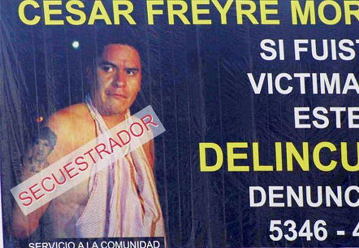 César Freyre obtuvo una pena de 47 años tres meses de prisión por ser penalmente responsable en el secuestro y asesinato del empresario Hugo Alberto Wallace Miranda. (Internet)