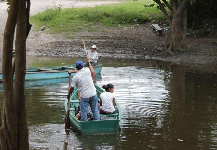 Personas pudieran estar cruzando el río Hondo para internarse en el estado para cometer delitos. (Edgardo Rodríguez/SIPSE)