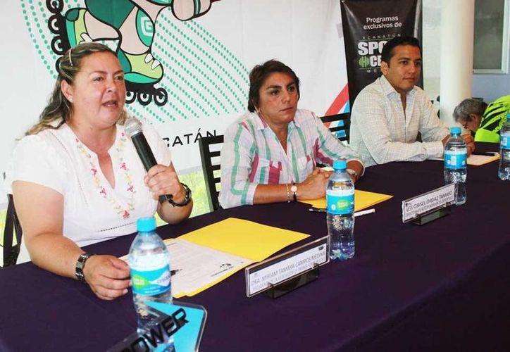 En rueda de prensa se anunció el Campeonato Sobre Ruedas, en la ciudad. (Milenio Novedades)
