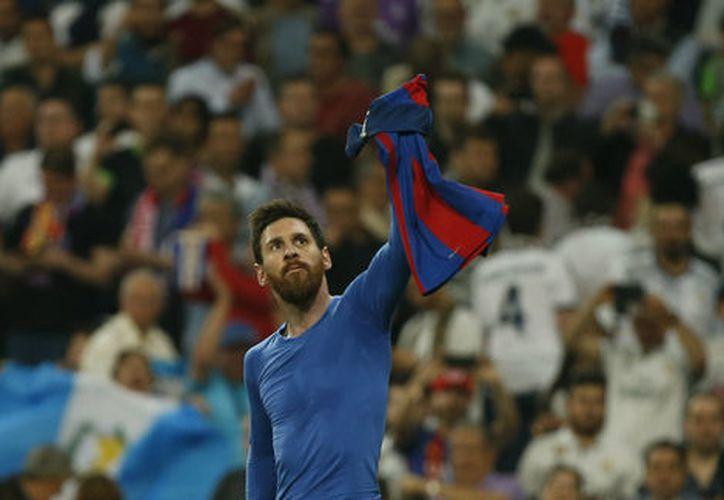 En 577 partidos de Liga, el astro argentino ha marcado 343 de los 500 goles. (Reuters).