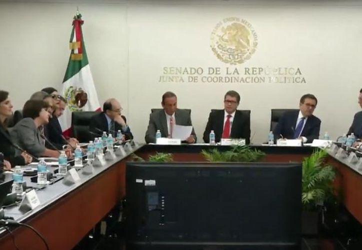 El Senado mexicano integró una comisión plural de senadores que acompaña las negociaciones del Tratado de Libre Comercio de América del Norte. (Internet)