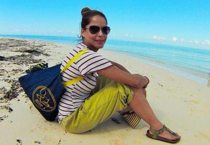 Ana Claudia Talancón protagonizará la película que se filmó en Cozumel. (Contexto/Internet)