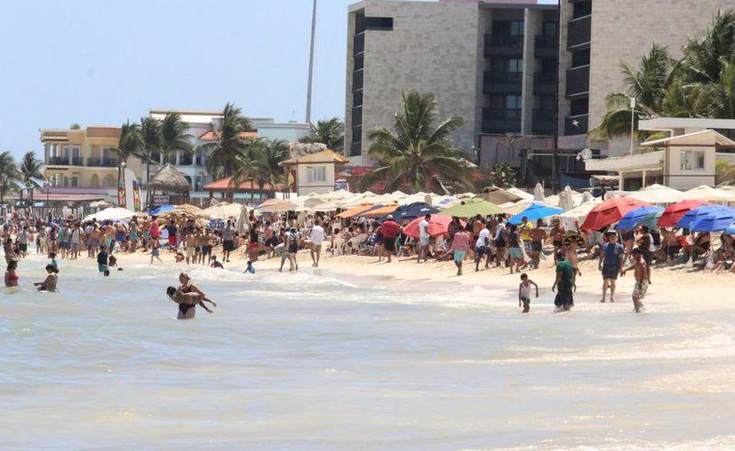 Incrementó el arribo de turistas en los destinos turísticos del estado. (Adrián Barreto/SIPSE)