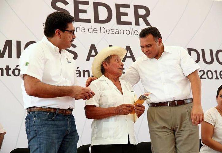 El gobernador Rolando Zapata estará presente hoy domingo en el  X Congreso Internacional de Mayistas. (Foto del Gobierno estatal)