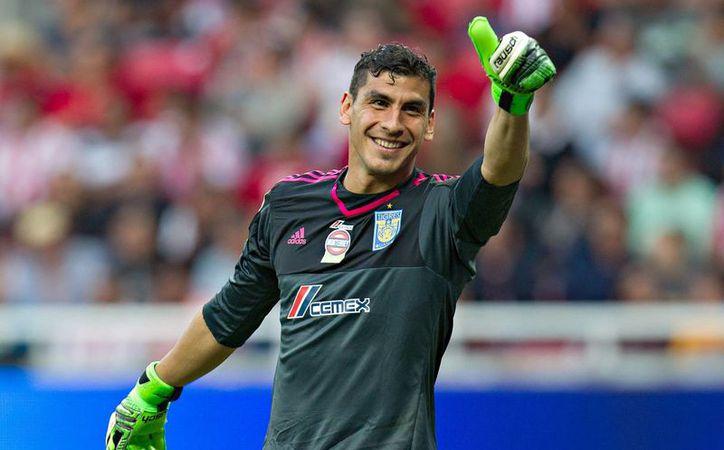 Nahuel Guzmán, portero de Tigres de UANL, es uno de los futbolistas convocados a la selección de Argentina. (Tigres Oficial)