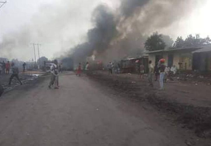 Más de 100 personas resultaron lesionadas por la explosión. (@SylvestreMukeba)