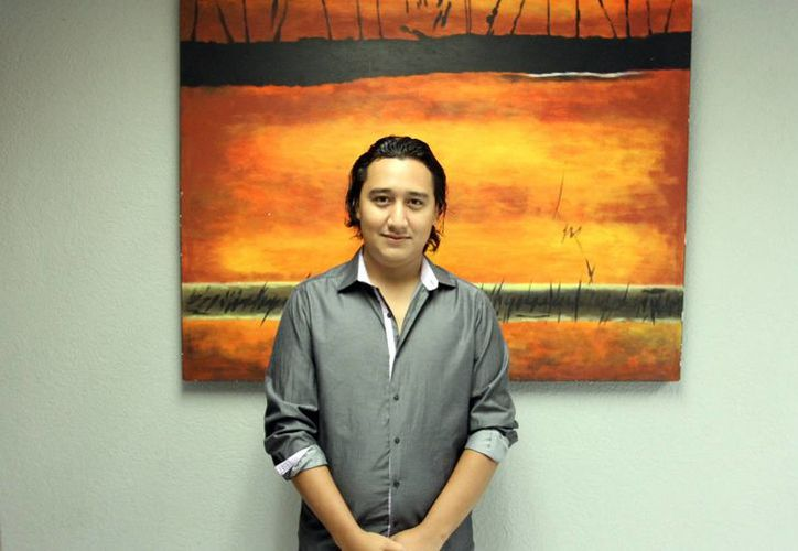 El músico yucateco interpretará temas de varios países dentro de su presentación en el festival de jóvenes creadores.(SIPSE)