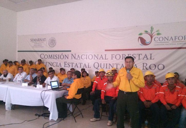 Ayer se instaló el Comité Estatal de Prevención y Combate de Incendios Forestales de Quintana Roo. (Daniel Tejada/SIPSE)
