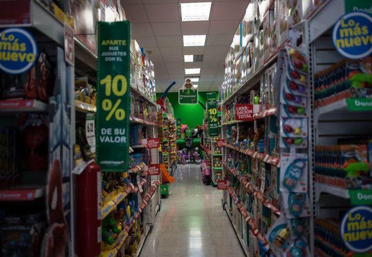 Las jugueterías son los negocios que mayor demanda tendrán en estos días por el Día del Niño. (Mauricio Palos/SIPSE)