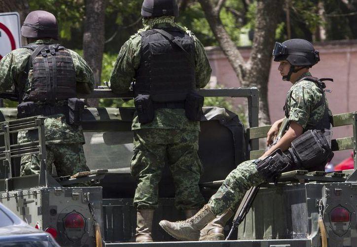 Durante los elecciones de este domingo se realizarán patrullajes patrullaje costero y vigilancia aérea para mantener la seguridad en la zona sur, sureste del país. Imagen de Contexto. (Archivo/Notimex)