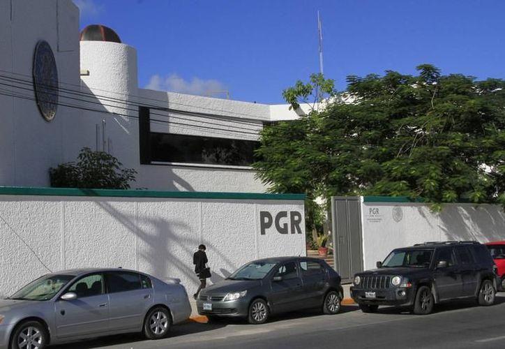 La delegación de la PGR se ubica en la avenida López Portillo de Cancún. (Redacción)