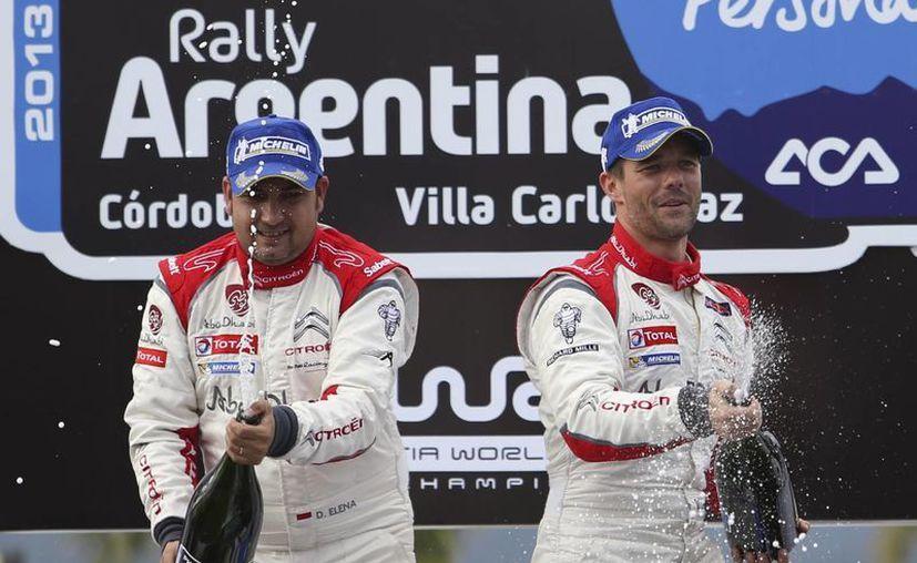 Loeb se colocó a 54 puntos del líder, Ogier. (Foto: Agencias)