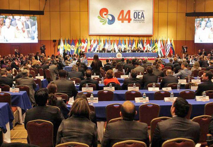 El cronograma de la Asamblea General cuenta con cinco sesiones. (Jesús Tijerina/ SIPSE)