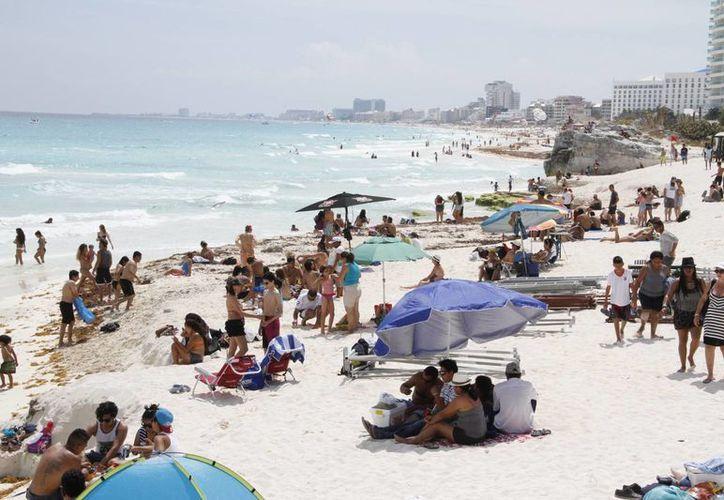 El año pasado, en mayo, se hospedaron en el destino 300 mil visitantes. (Israel Leal/SIPSE)