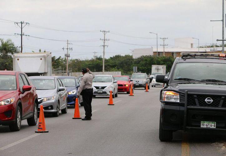Para evitar accidentes colocarán más señalamientos en las zonas de trabajo. (Foto: SSP)