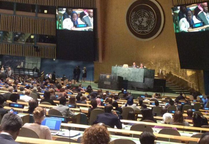 Los Delegados Juveniles participarán en el 71 periodo de sesiones de la Asamblea General de la Organización de las Naciones Unidas. (Archivo/Notimex)