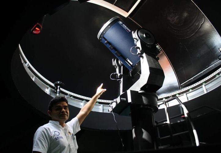 El Planetario Sayab convoca a las personas mayores de 12 años a integrar la primera Sociedad Astronómica de Playa del Carmen. (Octavio Martínez/SIPSE)