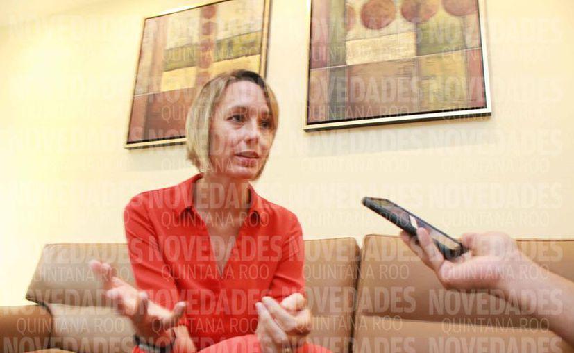 La nueva cónsul general de Estados Unidos fue entrevistada en exclusiva para Novedades Quintana Roo. (Sergio Orozco/SIPSE)