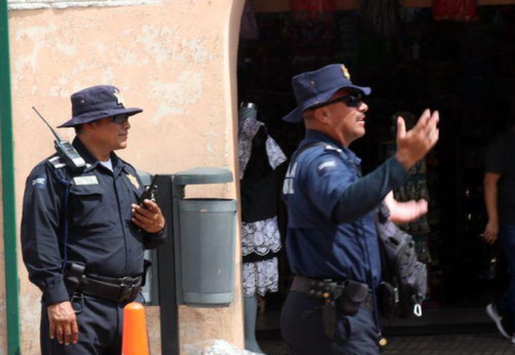 Policías con más prestaciones. (Foto: Milenio Novedades)